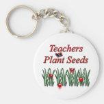 Semillas de la planta de los profesores llavero