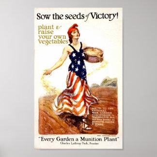 Semillas de la victoria posters
