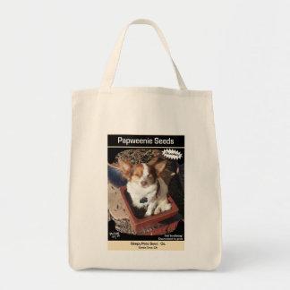 Semillas de Papweenie de los mascotas Gimpy Bolsa Tela Para La Compra
