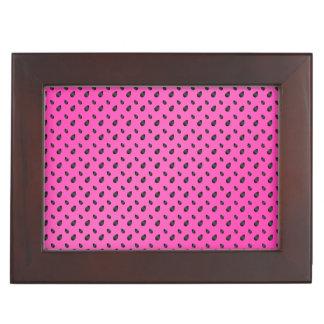 Semillas rosadas de la sandía cajas de recuerdos