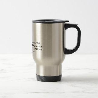 Semillenos de cristal/vacian/demasiado grande tazas de café