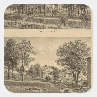 Seminario femenino de Augusta, Virginia Colcomanias Cuadradases