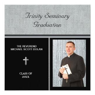 Seminary Graduation Photo Christian Custom Card