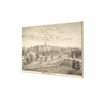 Seminary of St Francis of Sales, Milwaukee Co Wis Canvas Print