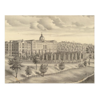 Seminary of St Francis of Sales, Milwaukee Co Wis Postcard