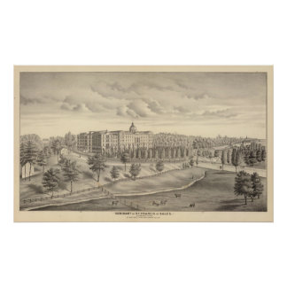 Seminary of St Francis of Sales, Milwaukee Co Wis Poster
