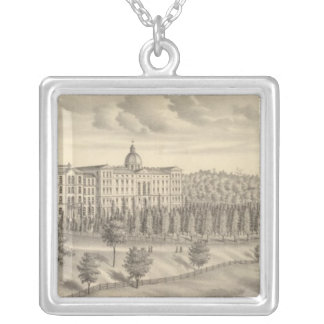 Seminary of St Francis of Sales, Milwaukee Co Wis Silver Plated Necklace