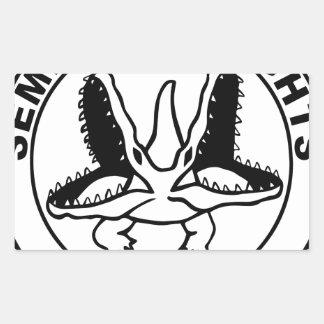 SEMINOLE_HEIGHTS_SEAL RECTANGULAR STICKER