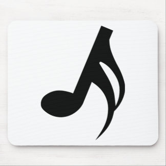 Semiquaver Musical Note Mouse Pad