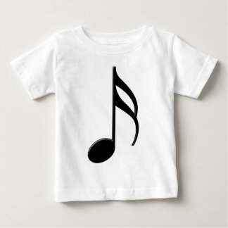 Semiquaver - Sixteenth Note Music Symbol Baby T-Shirt