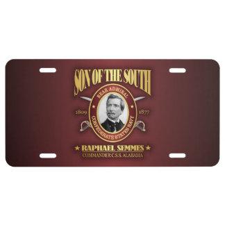 Semmes (SOTS2) License Plate