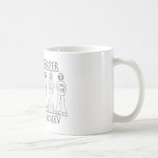 Semper Centristi: Centro 50th reunion 2015 Classic White Coffee Mug