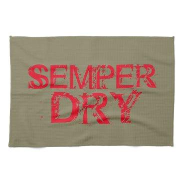 "BornOnParrisIsland Semper DRY Kitchen Towel 16""x24"""