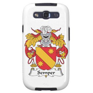Semper Family Crest Samsung Galaxy S3 Case