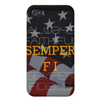 Semper Fi - Always Faithful Case iPhone 4/4S Covers