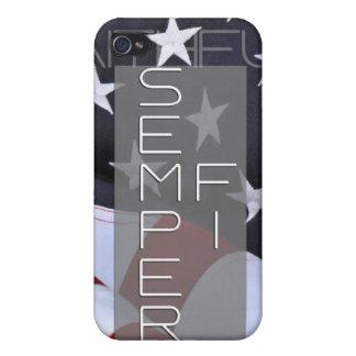 Semper Fi - Always Faithful Case iPhone 4/4S Cover