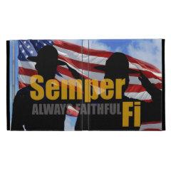 Semper Fi - Always Faithful IPAD case