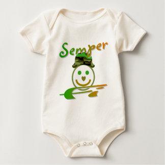 Semper Fi Baby Creeper
