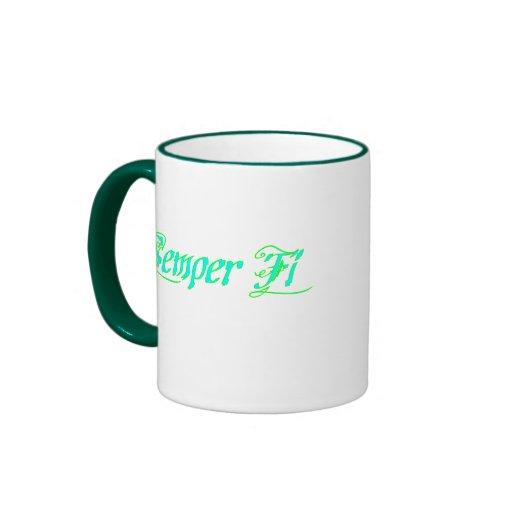 Semper Fi Coffee Mugs