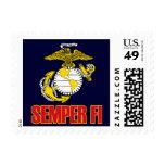 Semper Fi [EGA] Postage Stamps