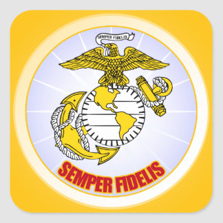 Semper Fi [EGA] Square Sticker