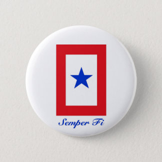 Semper Fi - Family Flag Button