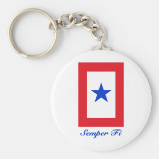 Semper Fi - Family Flag Keychain