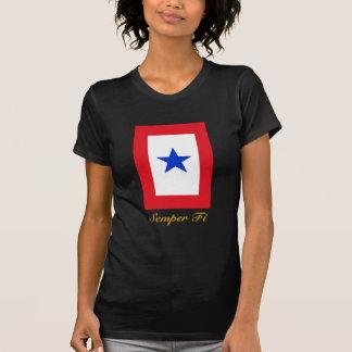 Semper Fi Family Flag Tee Shirt