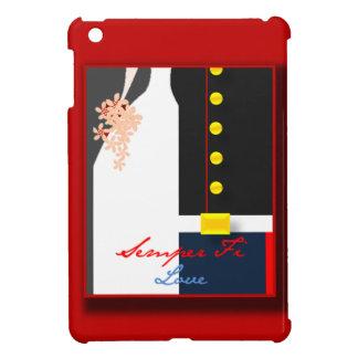 Semper Fi Love iPad Cover Wedding Dress Blues
