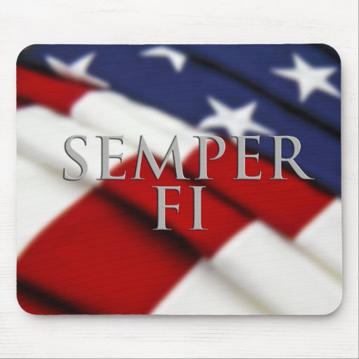 Semper Fi Mousepad