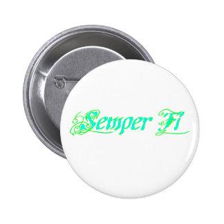 Semper Fi Pinback Button