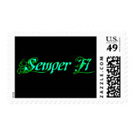 Semper Fi Postage Stamps