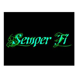 Semper Fi Postcard