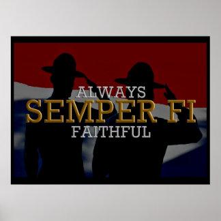 Semper Fi - Poster siempre fiel