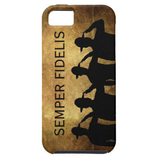 Semper Fidelis and Saluting Sergeants iPhone 5 Cover