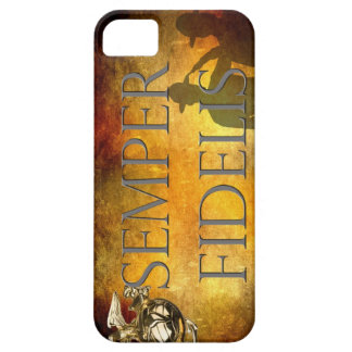 Semper Fidelis and Saluting Sergeants iPhone 5 Case
