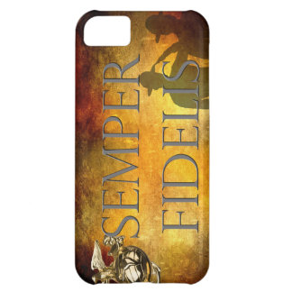 Semper Fidelis and Saluting Sergeants iPhone 5C Covers
