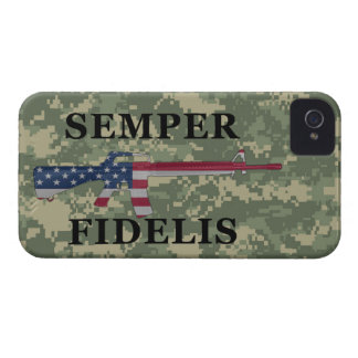 Semper Fidelis BlackBerry Bold Case Green