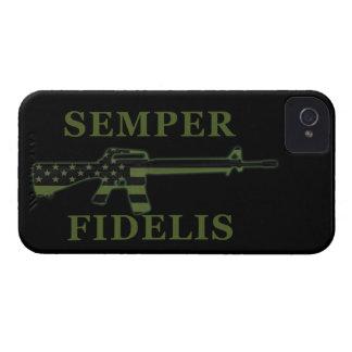 Semper Fidelis BlackBerry Bold Case Subdued Black