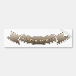 Semper Fidelis Bumper Sticker