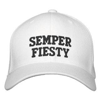 Semper Fiesty Embroidered Hat