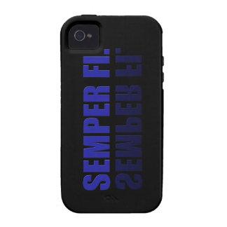 Semper Fil reflejó el caso de IPhone iPhone 4 Fundas