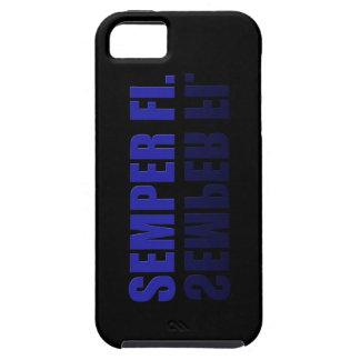 Semper Fil reflejó el caso de IPhone iPhone 5 Case-Mate Fundas