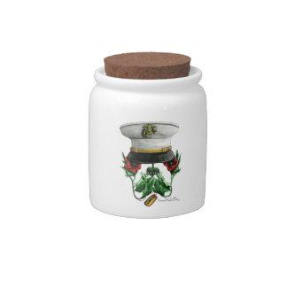 Semper FiSkull Candy Jars