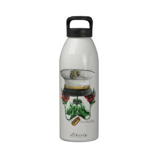 Semper FiSkull Reusable Water Bottles