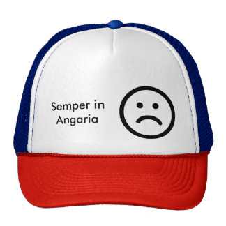 Semper in Angaria Always Enslaved to your Master Trucker Hat