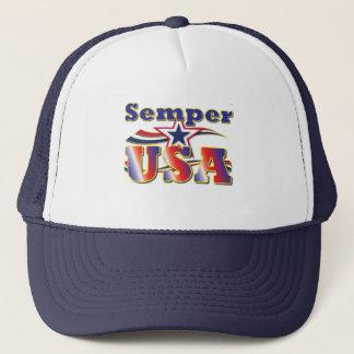 Semper USA Cap America Stars Stripes Hero Hat