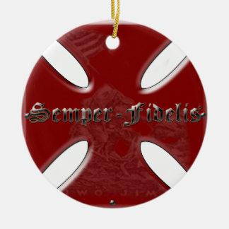 SemperFidelisCross.png Ornamentos De Reyes Magos