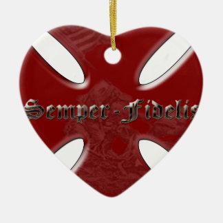 SemperFidelisCross.png Ornaments Para Arbol De Navidad