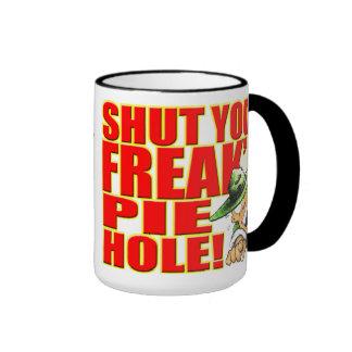 SemperToons Mug - Shut Your Freak'n PieHole